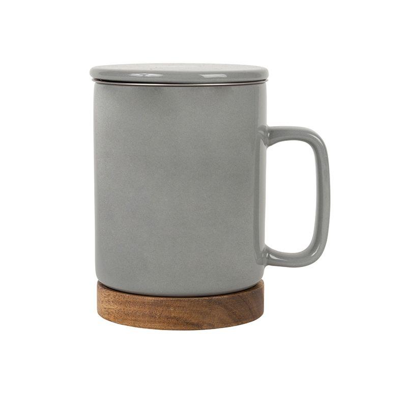 photo de Tisanière (grise)  Mug + infuseur